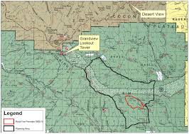 Wildfire Perimeter Map by Dry Weather Increases Activity On Rock Fire U2013 St George News