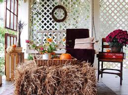 Fall Patio Modern Furniture Decorate Your Porch With Rustic Fall Style 2013