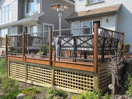 stylish wrought iron deck railing doherty house replace a
