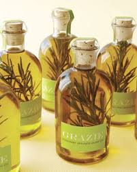 olive favors rosemary olive how to martha stewart weddings