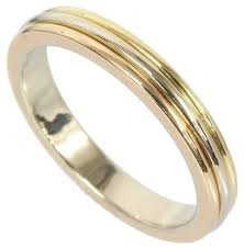 Cartier Wedding Rings by Cartier Trinity Wedding Band 18k Three Gold Ring B4052266 29