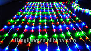 multicolor led icicle lights drop lights for