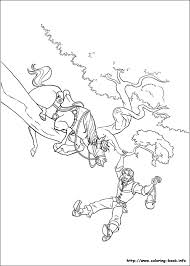 tangled coloring picture u0027s 3rd bday color