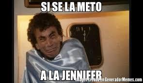 Jennifer Meme - si se la meto a la jennifer meme de alfonso zayas roberto