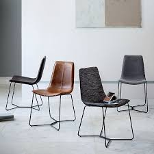 Office Dining Furniture by Slope Dining Chair West Elm