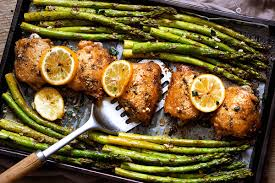 asparagus thanksgiving garlic butter chicken recipe and asparagus u2014 eatwell101