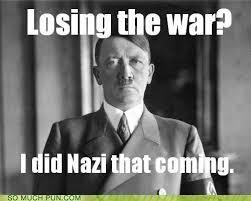 Nazi Meme - hitler s view puns pun pictures