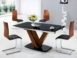 Glass And Wood Dining Tables Dining Room Design Furniture Rectangle Glass Dining Table Top