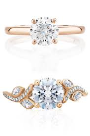 de beers engagement rings 35 rose gold engagement rings rose gold engagement rings and