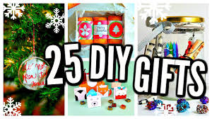 Cheap Homemade Christmas Gifts by 25 Diy Christmas Gifts 2016 Cheap U0026 Easy Presents Youtube