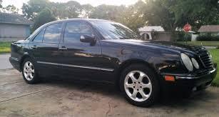 mercedes 2002 e320 2002 mercedes e320 black moonroof 103k beautiful condition