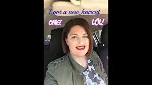 i got a new haircut youtube