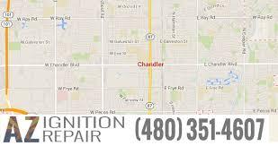 map of chandler az chandler az mobile car ignition switch repairs