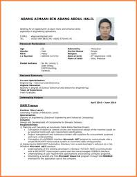 Resume Headline For Mechanical Engineer Best Resume Format For Electrical Engineers Free Download And Job