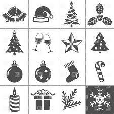 christmas icons vector clipart image 5948 u2013 rfclipart