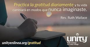 imagenes de agradecimiento al universo 30 días de gratitud unity enlinea