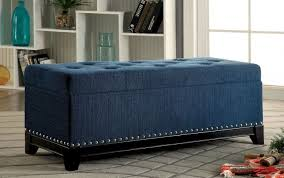Teal Storage Ottoman Furniture Of America Cm Bn6272tl Randi Contemporary Dark Teal