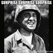 Surprise Meme - surprise surprise surprise gomer pyle meme generator