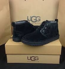 ugg boots in size 11 for s ugg australia boots neumel black shearling sheepskin us size 11
