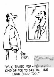 Narcissism And Vanity Male Vanity Cartoons And Comics Funny Pictures From Cartoonstock