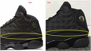 jordan retro 13 don u0027t get got real vs fake air jordan 13 xiii retro black cat