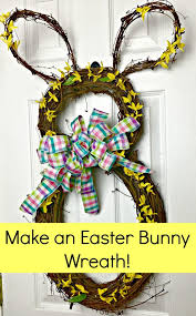 easter bunny wreath easter bunny wreath celebrate decorate