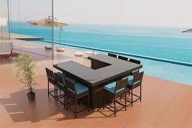 U Shaped Bar Table Resort Collection U Shaped Bar Set