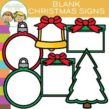 christmas signs free blank christmas signs clip images illustrations