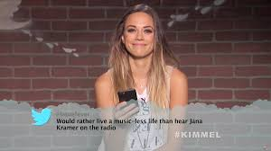 mean tweets goes country with blake shelton jana kramer and more