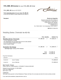 invoices wedding photography invoice template tave proforma bill