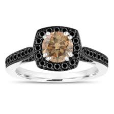 brown diamond engagement ring chagne diamond engagement rings wedding rings jewelry by garo
