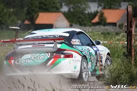 porsche 996 rally car chris debyser françois geerlandt porsche 996 gt3