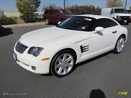 2004 alabaster white chrysler crossfire limited coupe 71132401