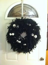 Pinterest Halloween Wreaths by Fun Diy Halloween Wreath All You Need Is Foam Wreath Ring Black