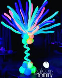 glow in the balloons uv reactive balloons make this flower glow balloons by