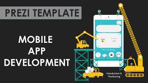app development prezi template youtube
