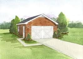 one story garage apartment plans 805 2 brick veneer one story garage plan