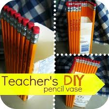 Pencil Vase Pencil Vase How To Make A Vase Art Construction And