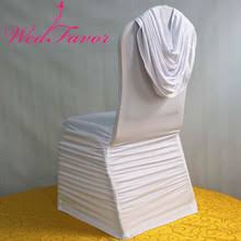 Ruffled Chair Covers Popular Chair Cover Swag Buy Cheap Chair Cover Swag Lots From