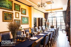 cuisine table chef table brick kitchen gourmet cuisine magazine