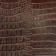 Alligator Upholstery Shason Textile Faux Leather Crocodile Print Upholstery Fabric