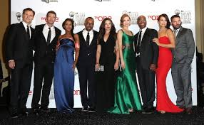 Seeking Episode Cast Columbus Congratulates Cast On 100th Episode