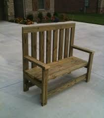Simple Wood Bench Instructions by Diy Garden Bench 52 Plans One Using Cinderblocks Covered With
