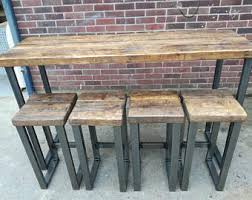 High Bar Table Bar Table Etsy