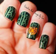 tiger nail designs gallery nail art designs