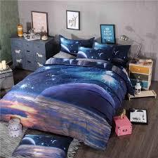 blue galaxy bedding full set galaxy full bed sets on sale
