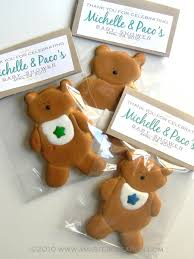 teddy baby shower favors sorepointrecords
