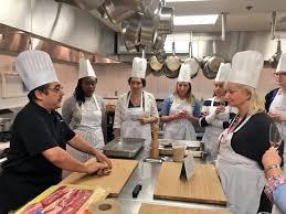 cours cuisine montr饌l tahina on cours de cuisine à l ithq avec chef