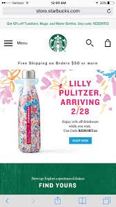 Lilly Pulitzer Swell Lillylovesstarbucks Hashtag On Twitter