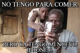 I Phone Meme - no tengo para comer iphone meme on memegen